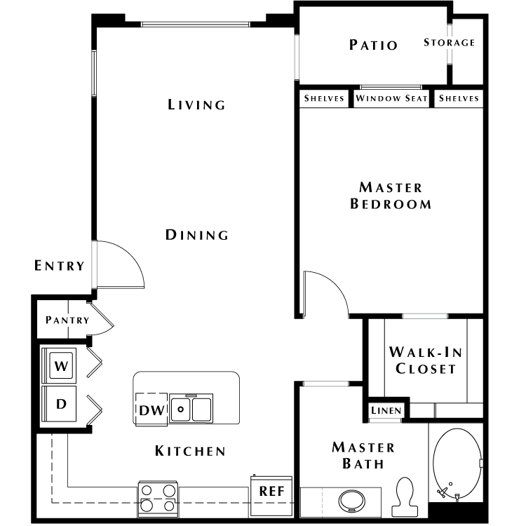 Floor plan image of A1 - Phase II