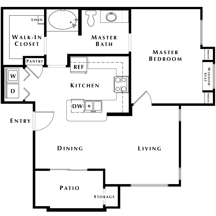 Floor plan image of A3 - Phase II