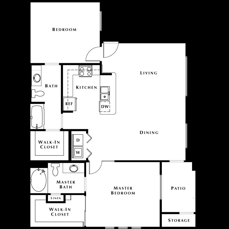 Floor plan image of B2 - Phase II