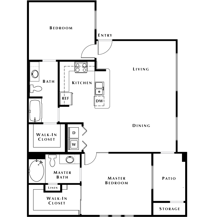 Floor plan image of B2 - Phase II