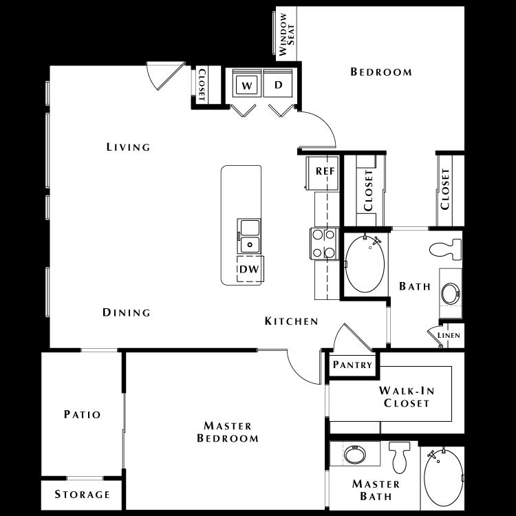Floor plan image of B3 - Phase II