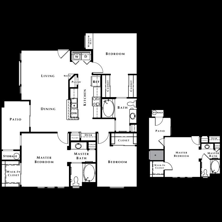 Floor plan image of The Elite - Phase I