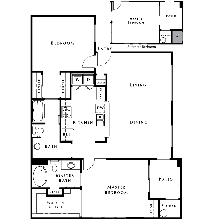 Floor plan image of The Haven - Phase I