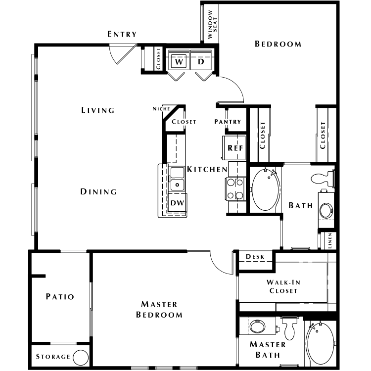 Floor plan image of The Jewel - Phase I