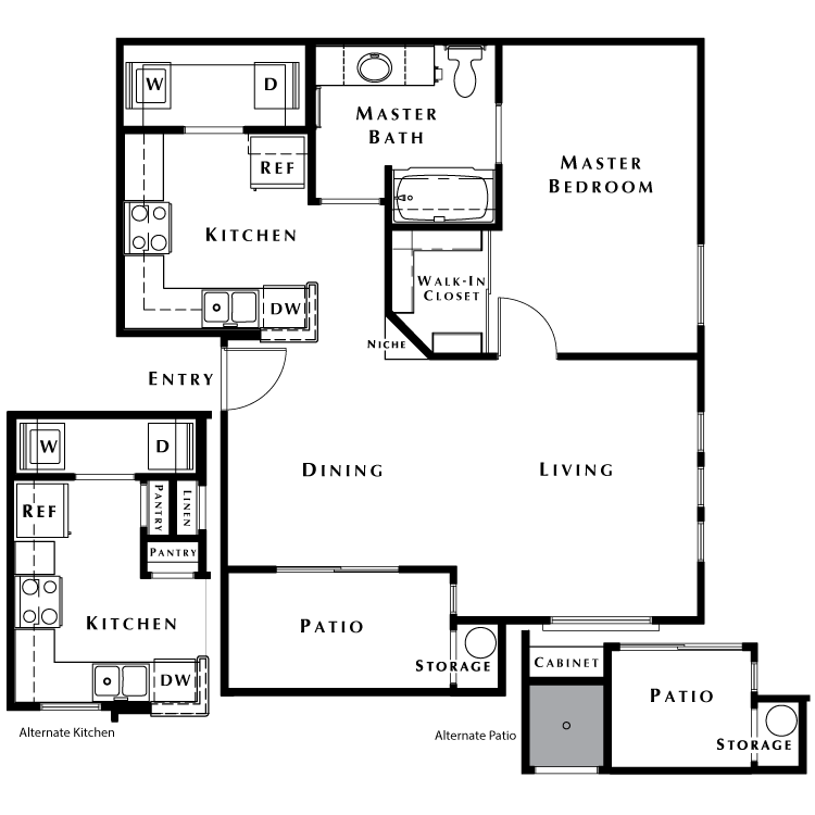 Floor plan image of The Oasis - Phase I