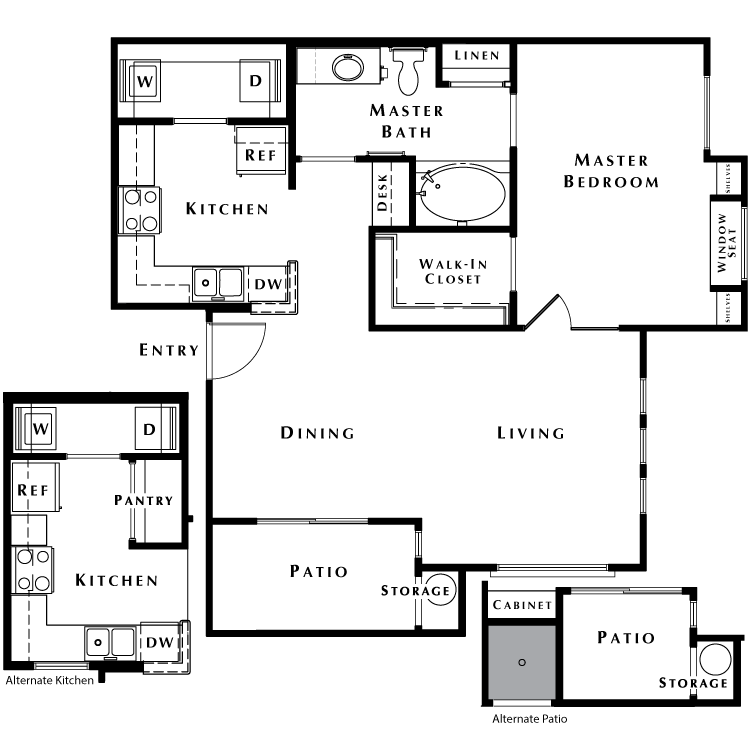 Floor plan image of The Sanctuary - Phase I