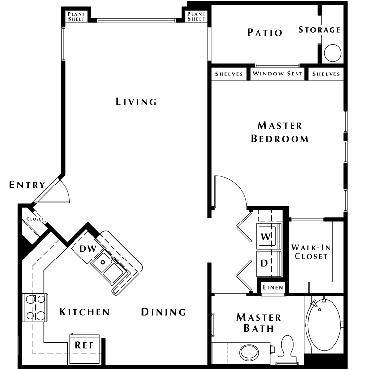 Floor plan image of The Signature - Phase I