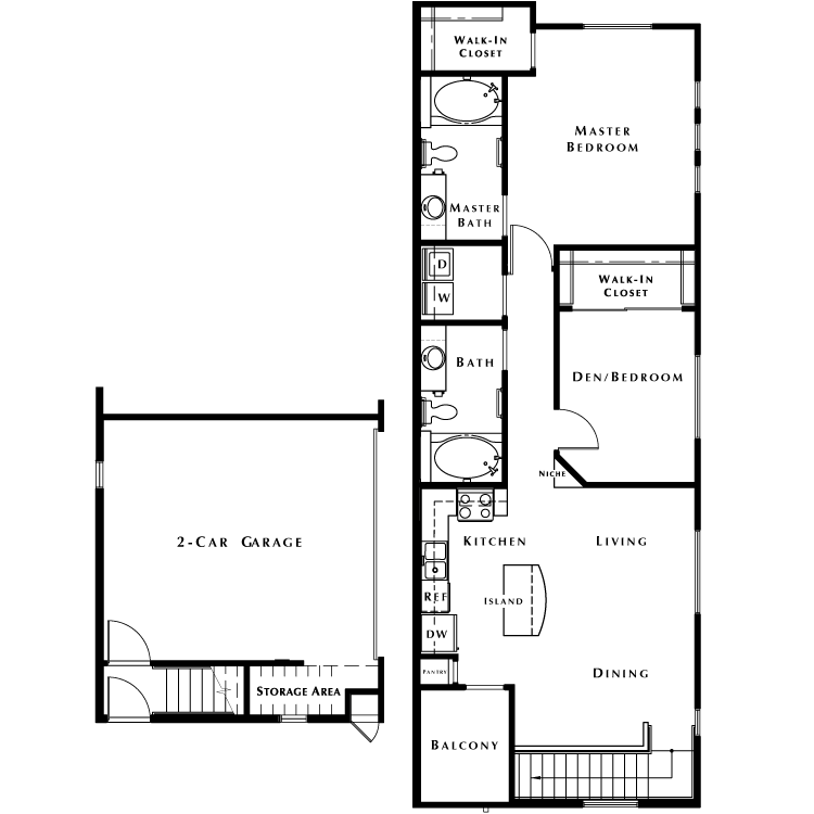 Floor plan image of The Summit - Phase I