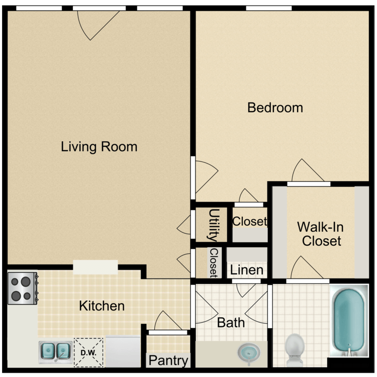 Deer Island floor plan image