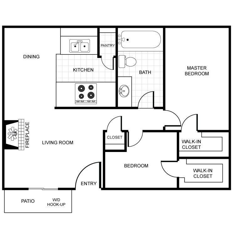 Floor plan image of Juniper
