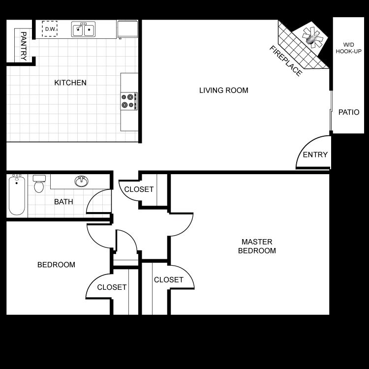 Floor plan image of Monterra