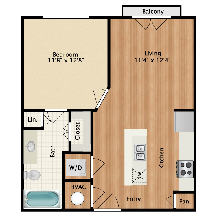 Floor plan image of Bell