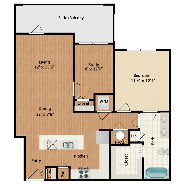 Floor plan image of Lorretto