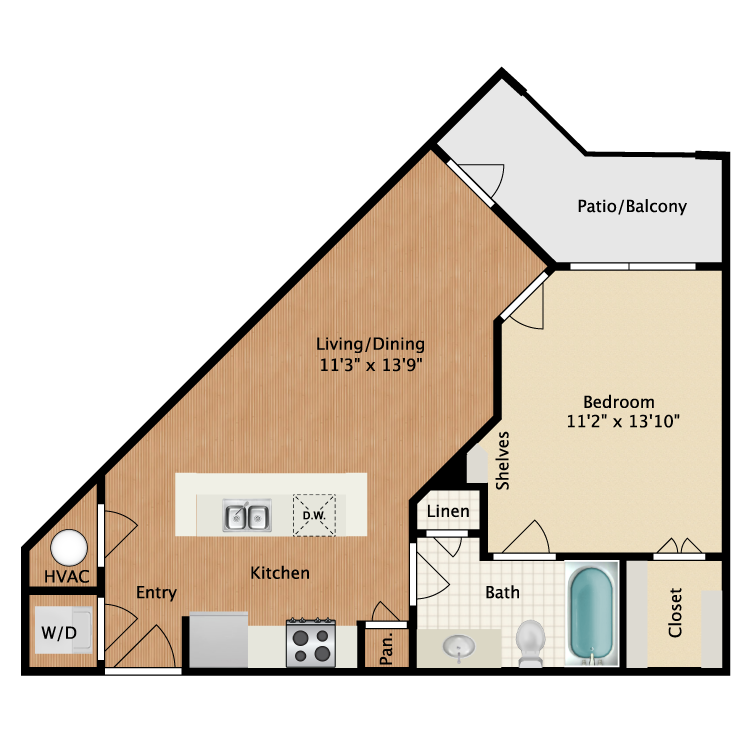 Floor plan image of Roselawn