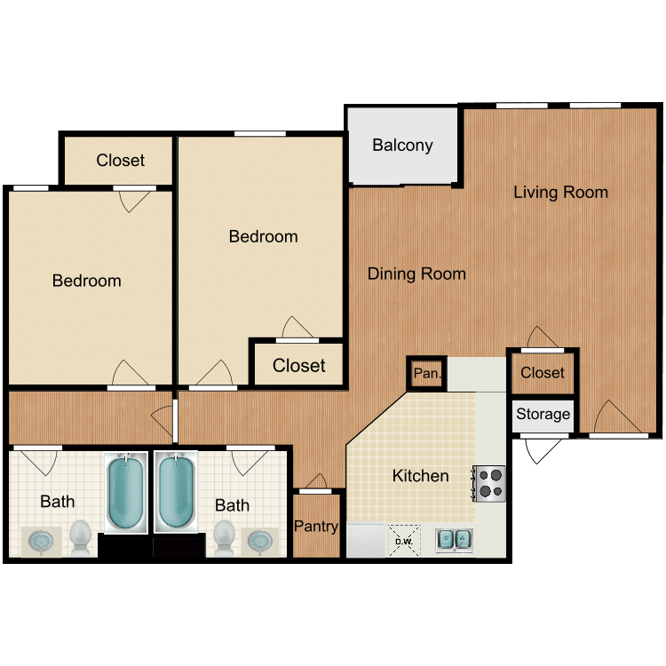 Floor plan image of The Willowbrook