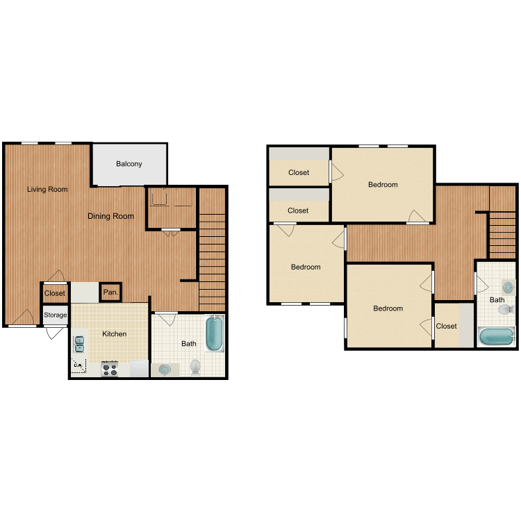 Floor plan image of The Huntington