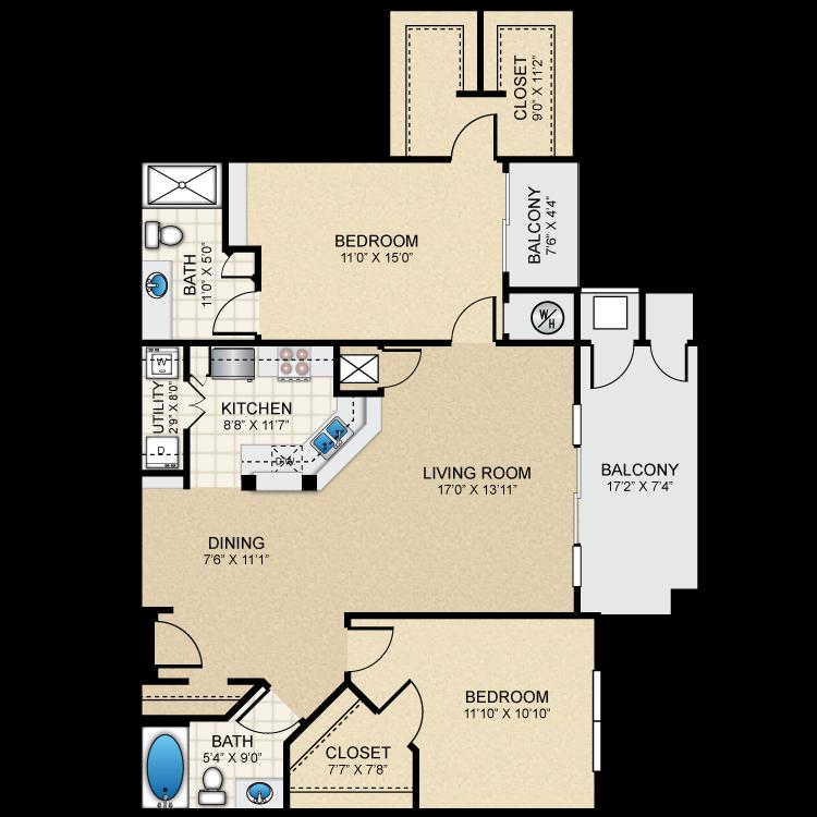 Floor plan image of B4 The Astoria