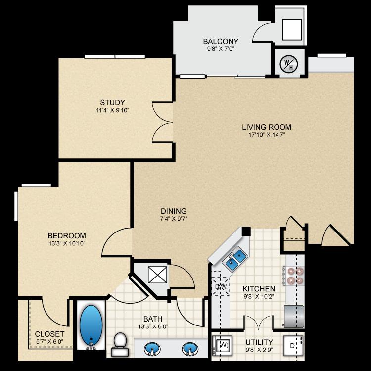 Floor plan image of A6 The Berkshire