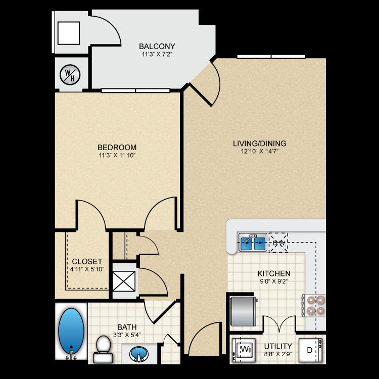 Floor plan image of A1 The Kensington