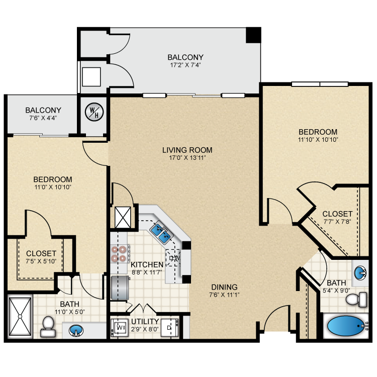 Floor plan image of B1 The Oxford
