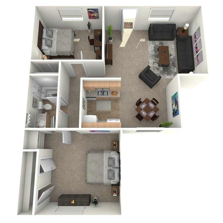 Floor plan image of B1AG