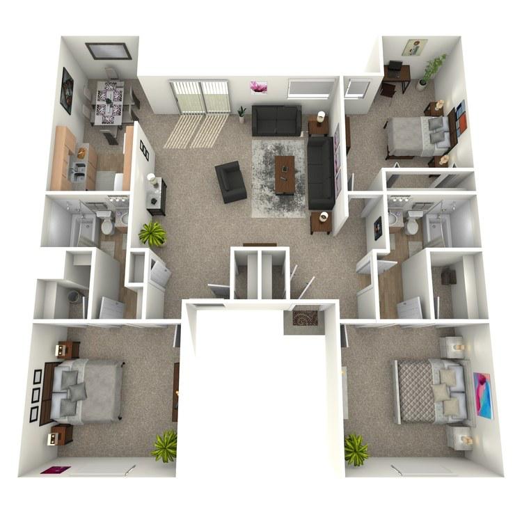 Floor plan image of C1GB