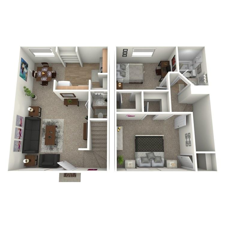 Floor plan image of B1THG
