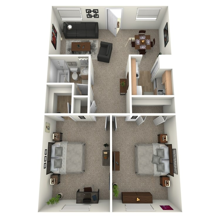 Floor plan image of B1AH