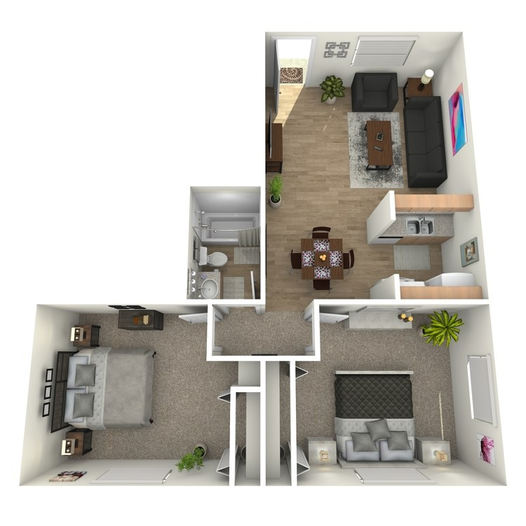 Floor plan image of B1G