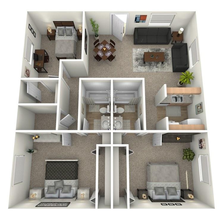 Floor plan image of C1GA