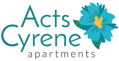 Acts Cyrene Apartments Logo