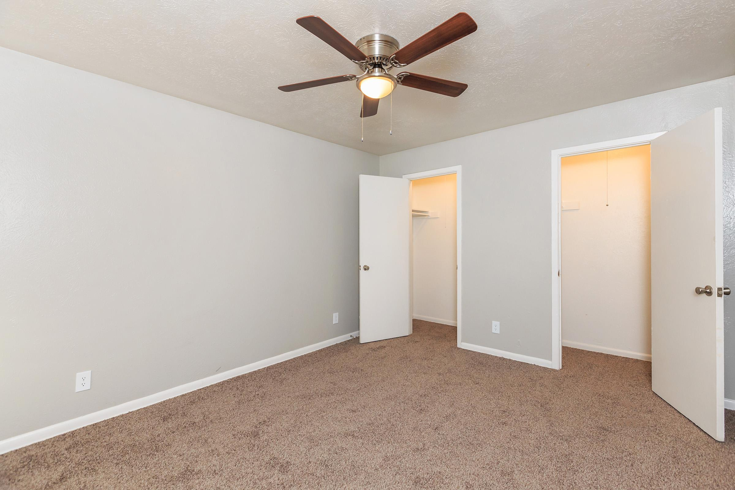 PLUSH CARPETED BEDROOM