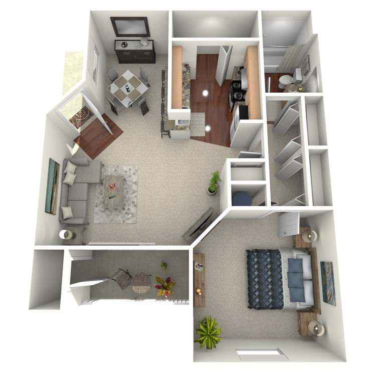 Peak floor plan image