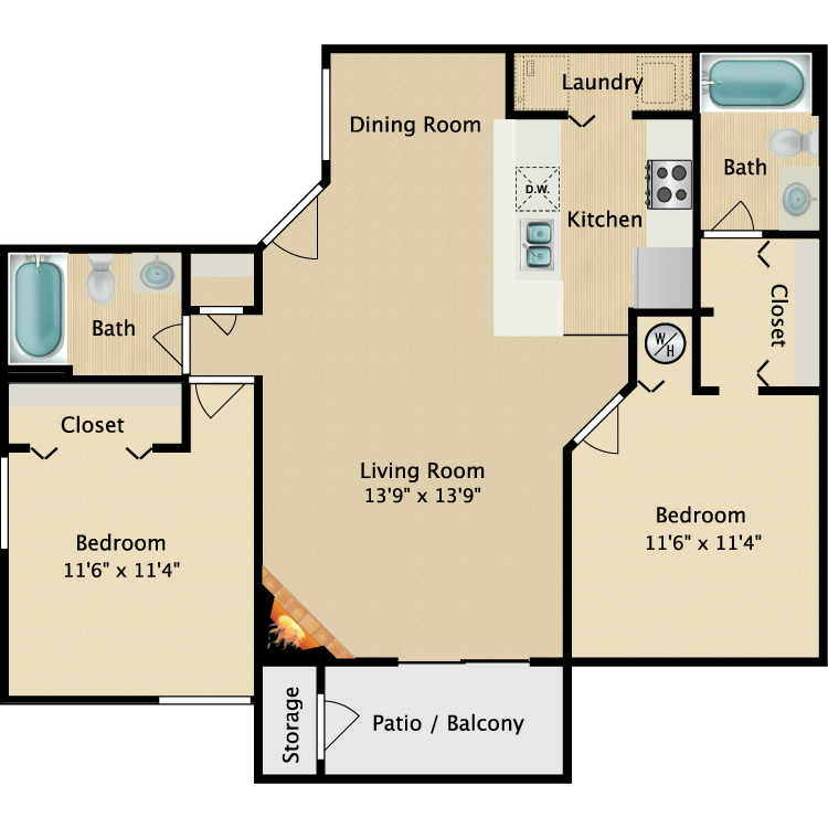 Pinnacle floor plan image