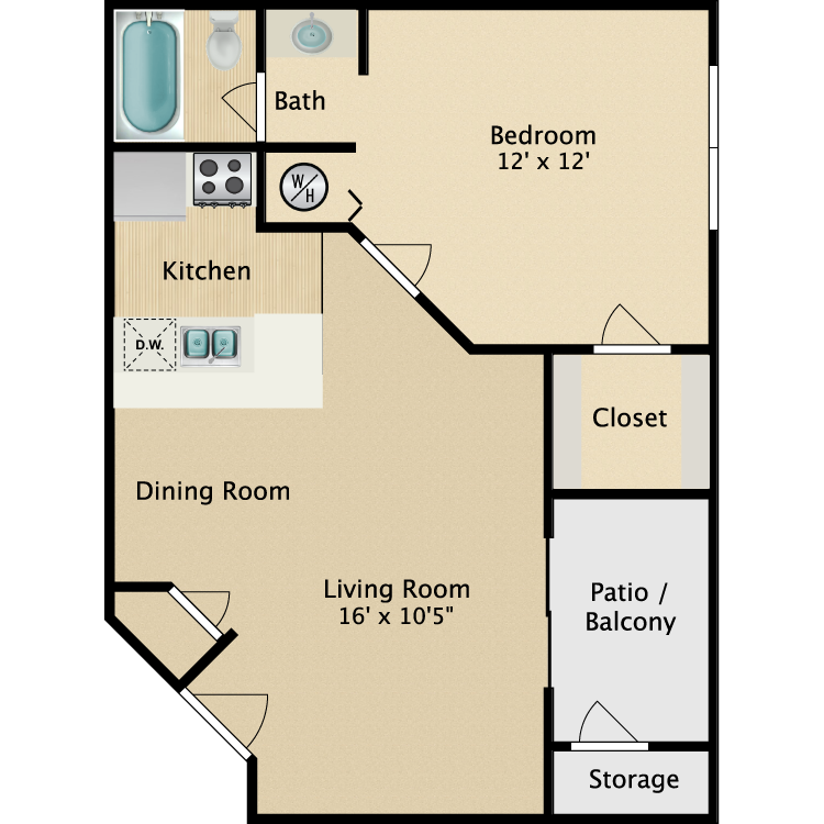 Summit floor plan image