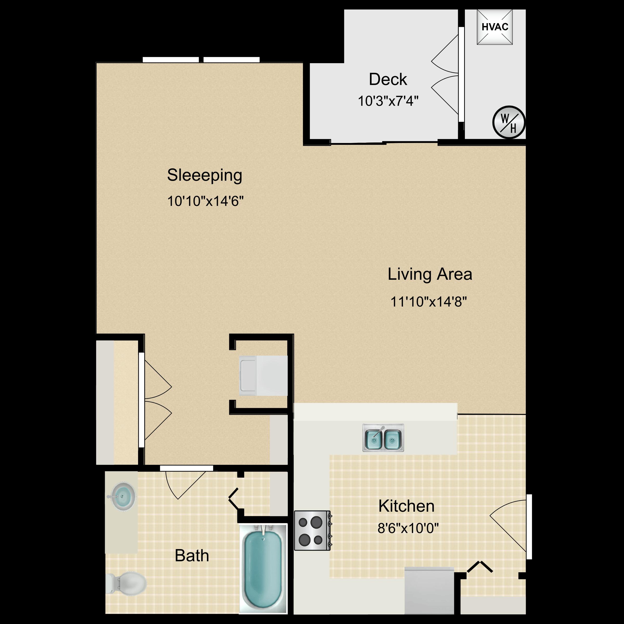 Floor plan image of Bothwell