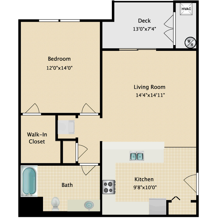 Floor plan image of Candler