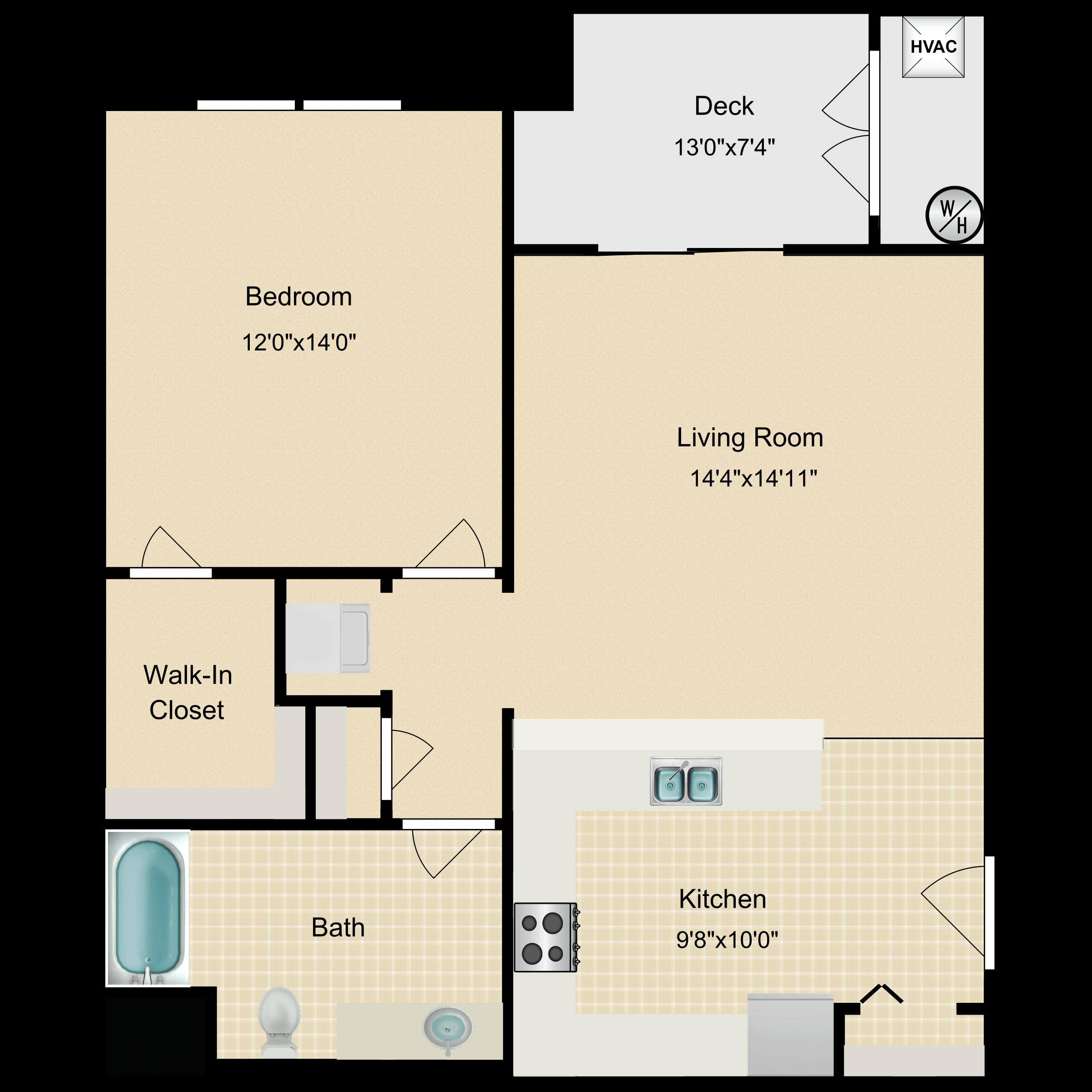 Floor plan image of Candler