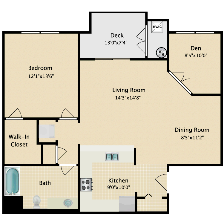 Floor plan image of Fairmont