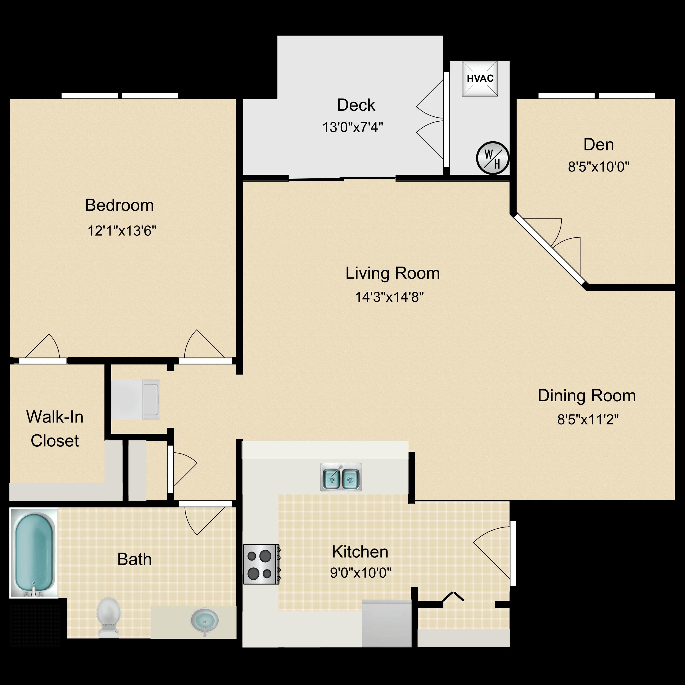 Floor plan image of Fairmont