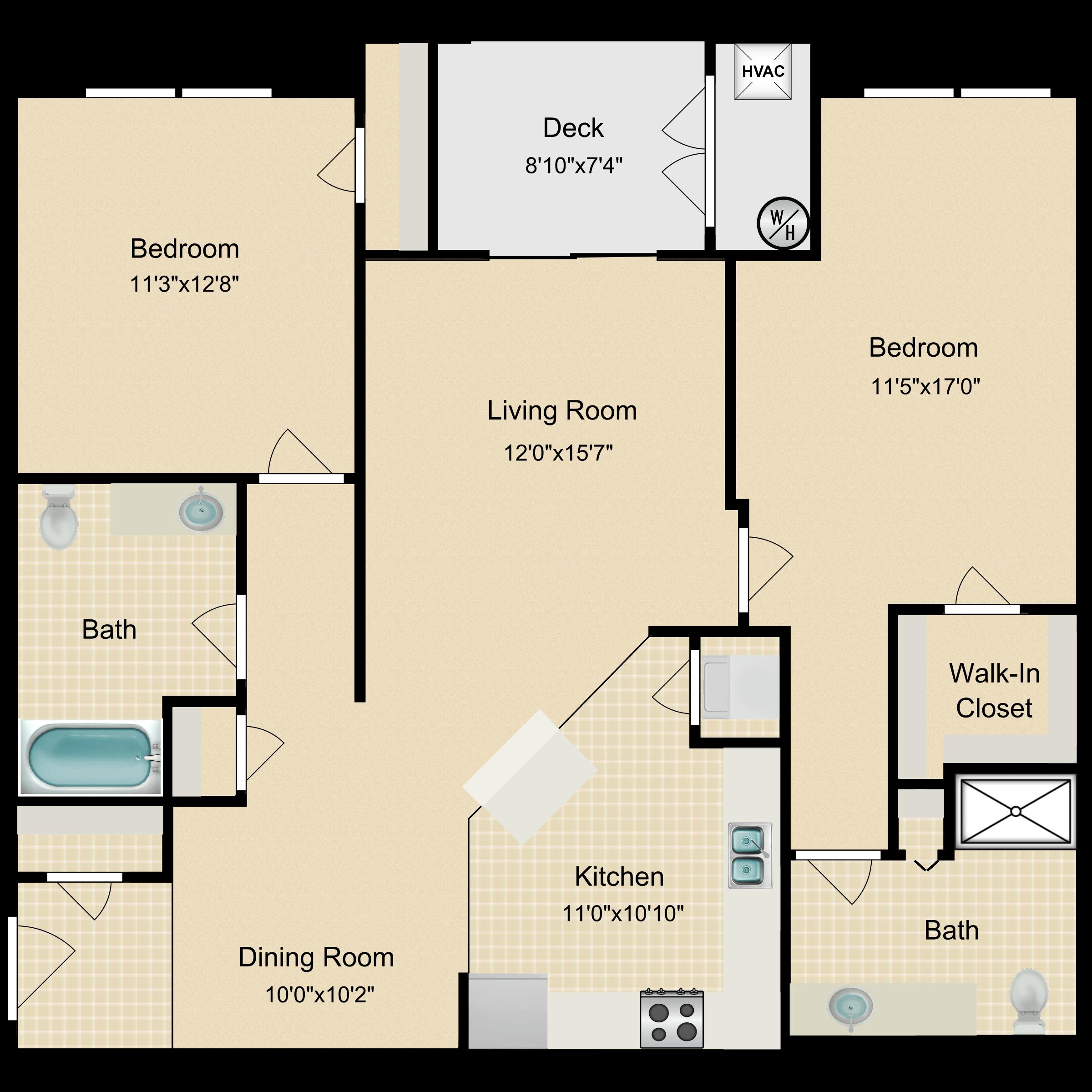Floor plan image of Glencoe