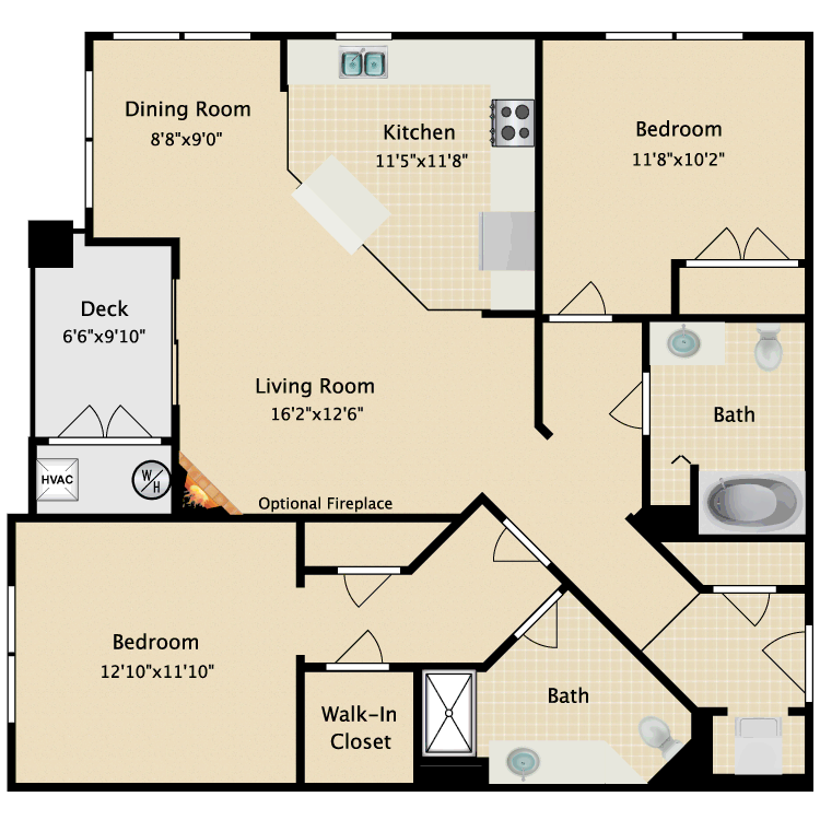 Floor plan image of Kentwood