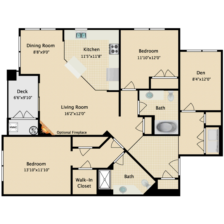 Floor plan image of Linden