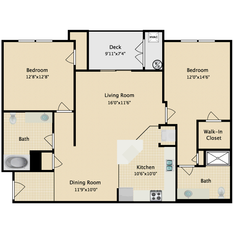 Floor plan image of Melrose