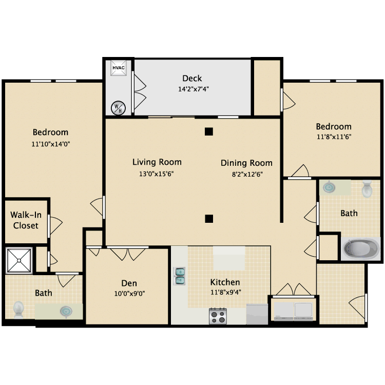 Floor plan image of Rosslyn