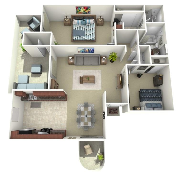 Floor plan image of Sands