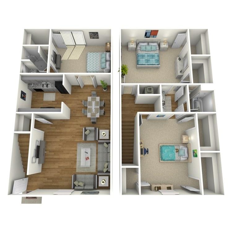 Floor plan image of C1THR