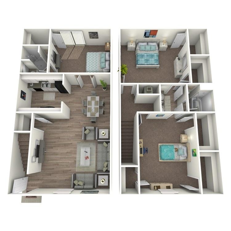 Floor plan image of C1TH