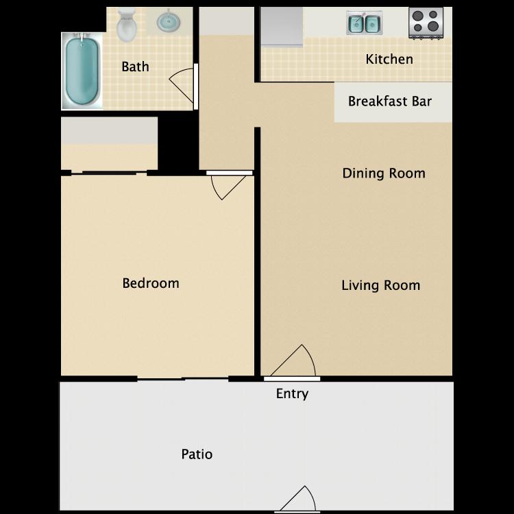 Floor plan image of West Plan A