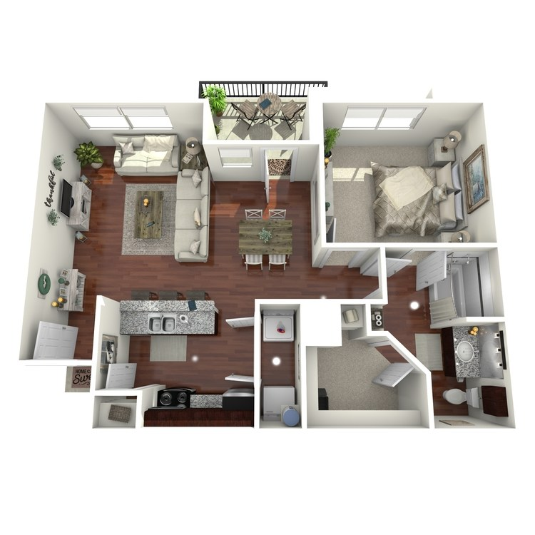 Floor plan image of A4